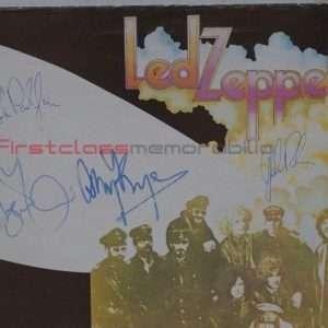 Led Zeppelin Autographed Led Zep 2 Album