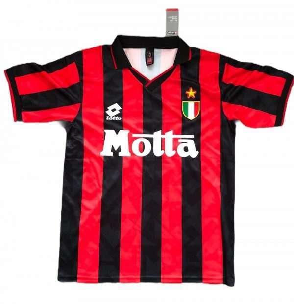 Mark Hateley signed AC Milan shirt back