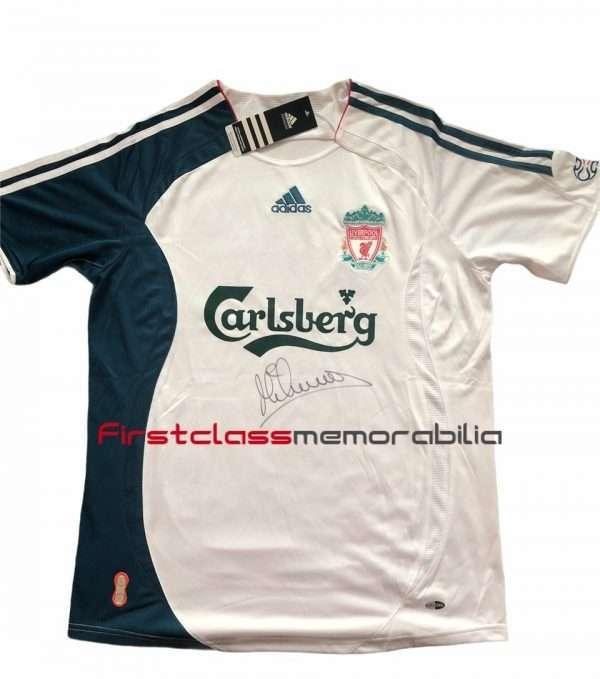 Michael Owen signed Liverpool European Third Shirt 2006-07