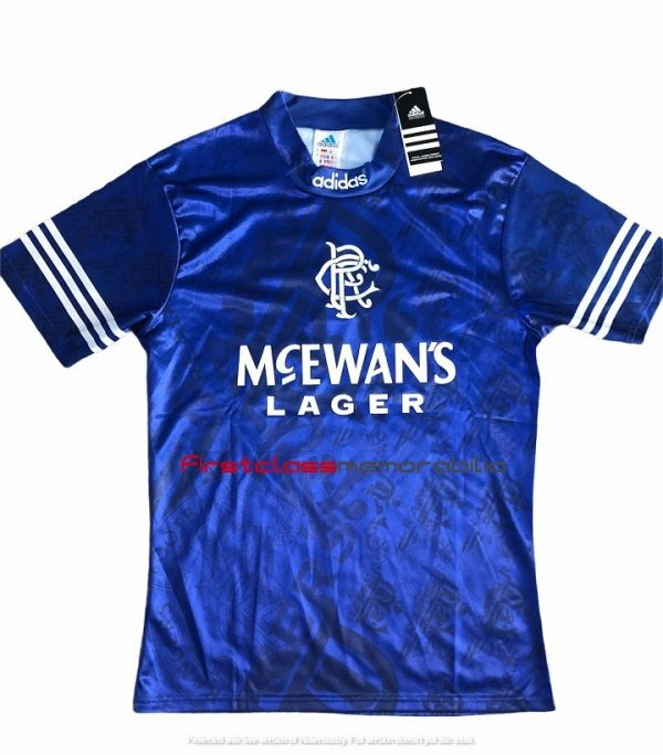 Paul gascoigne rangers shirt 1