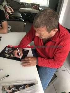 Andy Goram rangers autographs