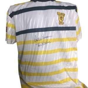 Andy Goram signed scotland shirt 1