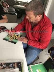 Andy Goram signed photo