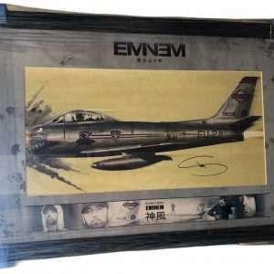 Eminem Signed Kamikaze Lithograph Autograph Slim Shady