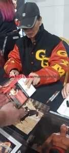 Genuine Bolo Yeung Autographs Enter The Dragon Bloodsport
