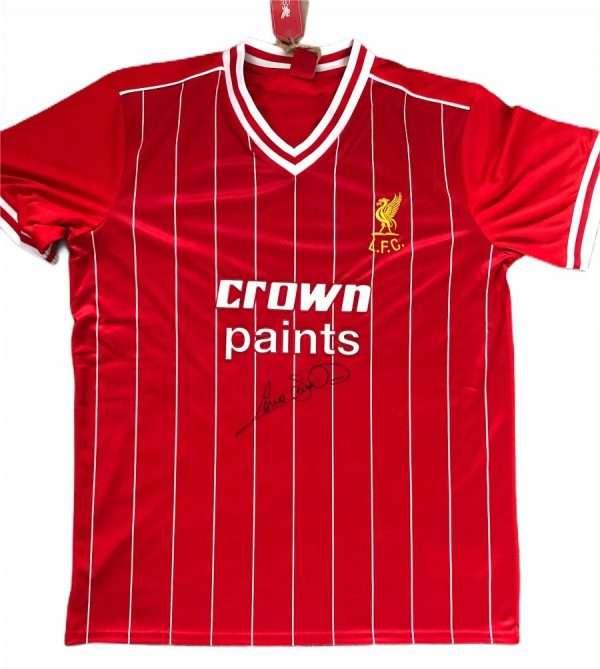 Graeme Souness autographed shirt Liverpool FC