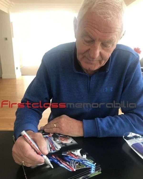 Walter Smith rangers signed memorabilia
