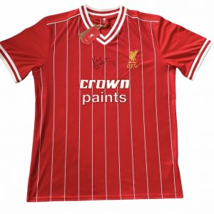 Kenny Dalglish signed Liverpool Retro Shirt 1982