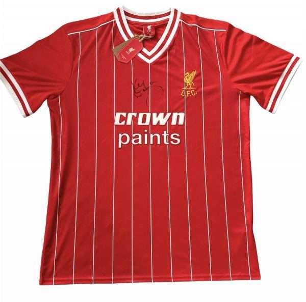Kenny Dalglish signed Liverpool Retro Shirt 1982