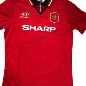 Ryan Giggs Man Utd Signed shirt 94-96 Home