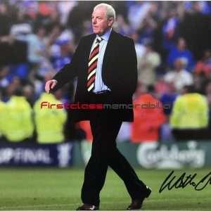 Walter Smith Rangers signed photo