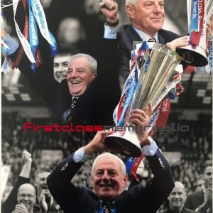 Walter Smith autograph Rangers photo