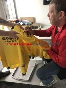 andy goram signed football shirt