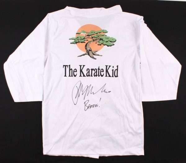 Ralph Macchio signed Karate Suit GI The Karate Kid