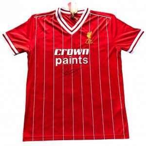 Phil Thompson Signed Liverpool FC shirt