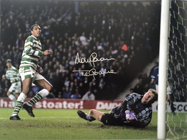 Andy Goram Goalkeeper Glasgow Rangers signed photo 16×12″