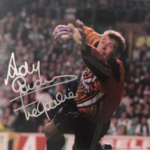 "Andy Goram signed Goalie photo Glasgow Rangers FC 8x10"""