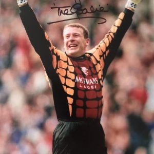 "Andy Goram Rangers Goalkeeper The Goalie signed photo 8x10"""