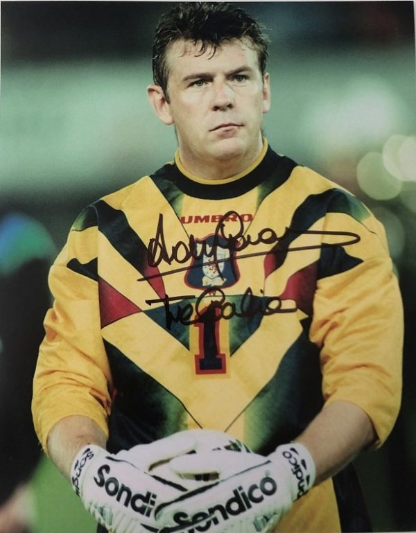 "Andy Goram signed Scotland Goalkeeper Photograph 8x10"""