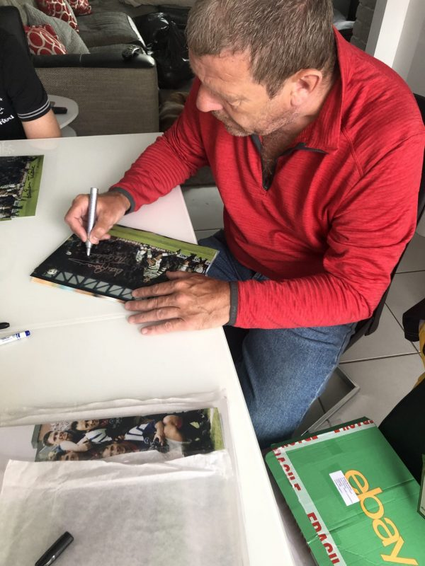 Andy Goram signed photo Glasgow Rangers memorabilia 12x8″