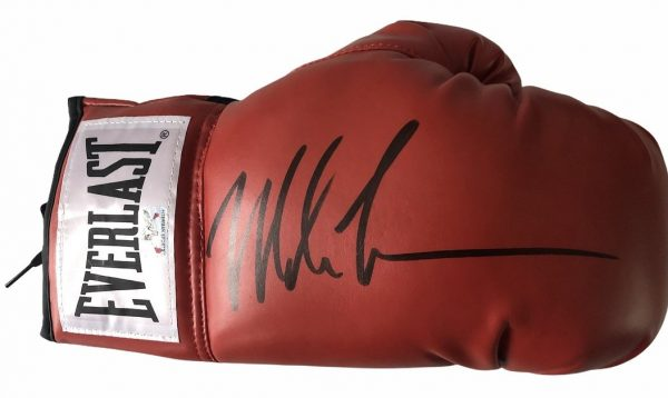 Mike Tyson signed Glove 1