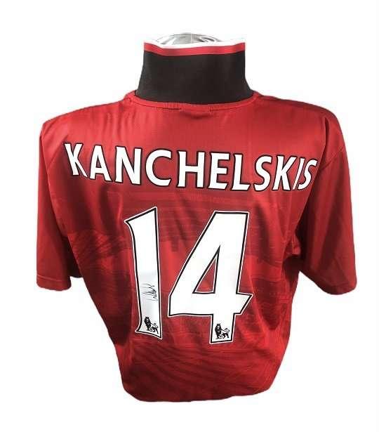 Andrei Kanchelskis signed Manchester United Football Shirt