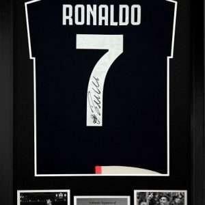 Cristiano Ronaldo Juventus signed Home shirt #7 1920