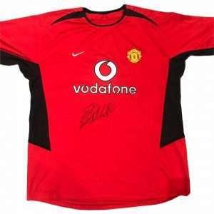 Cristiano Ronaldo Manchester United Autograph football shirt