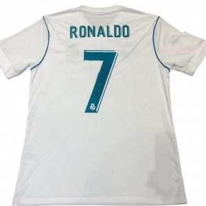 Cristiano Ronaldo signed Real Madrid football shirt 7
