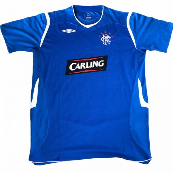 Rangers FC Shirt signed by Marvin Andrews front