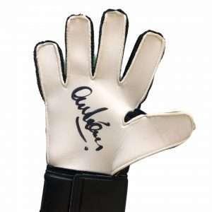 Alex Stepney signed Goalkeeper gloves 1