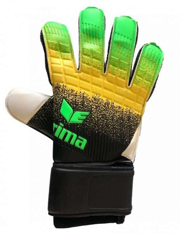 Alex Stepney signed Goalkeeper gloves 1 front
