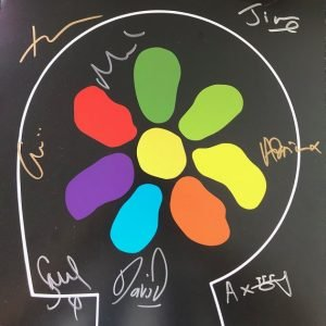 James signed All the Colours of you new album Tim Booth