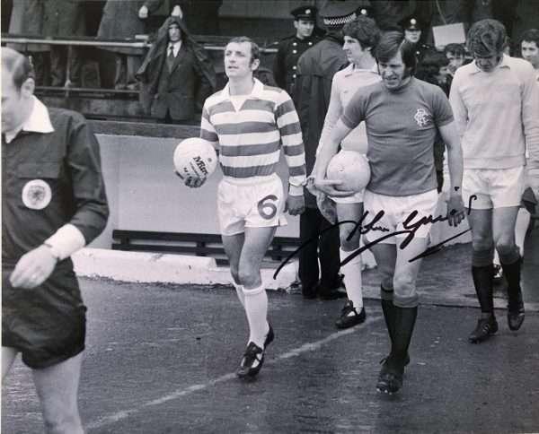 John Greig Autograph Signed Rangers 8x10 2