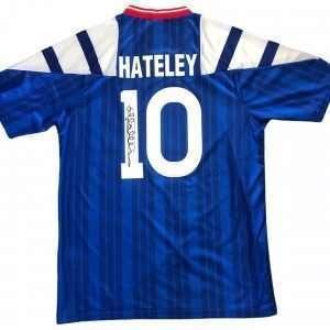 Mark Hateley Autographed Glasgow Rangers home shirt 92-94 [Rear]