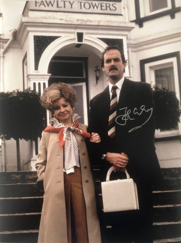 John Cleese Fawlty Towers Autographed photo