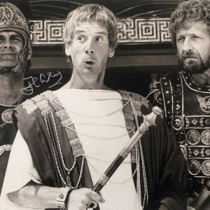 John Cleese signed Monty Python Life of Brian photo