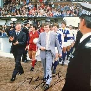 John Greig Signed Glasgow Rangers FC photograph 8x12 1