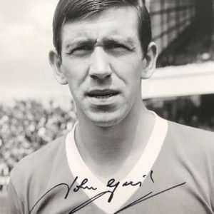 John Greig Signed Glasgow Rangers FC photograph 8x12 6