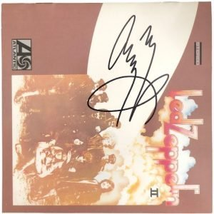 Jimmy Page signed CD Cover Led Zeppelin II