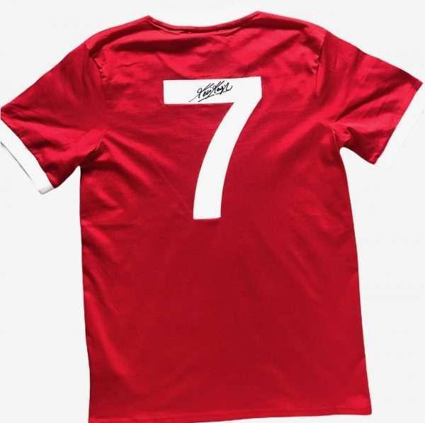 Kevin Keegan Autographed Liverpool FC Football shirt #7
