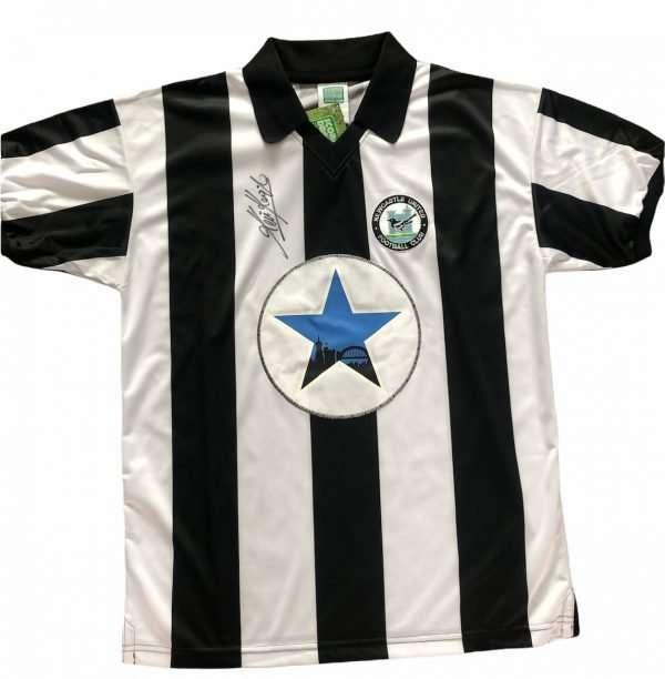 Kevin Keegan Newcastle United Signed football shirt