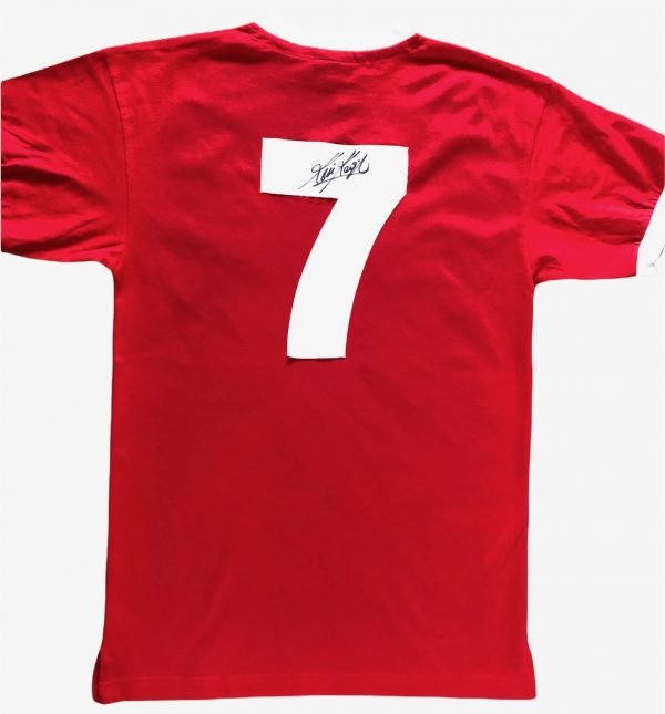 Kevin Keegan Signed Liverpool FC Football shirt #7