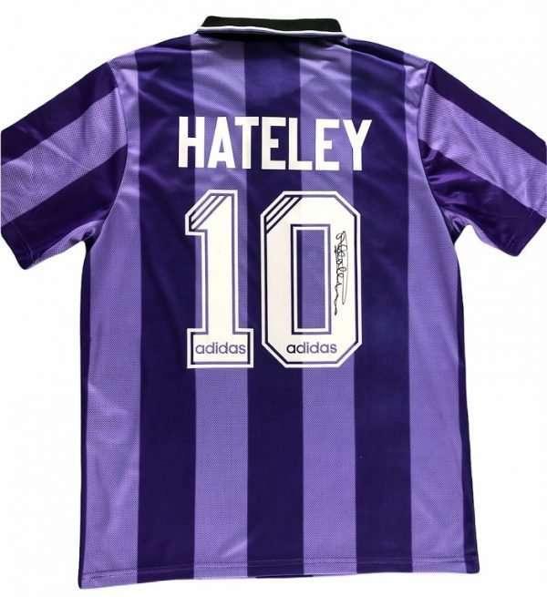 Mark Hateley Autograph Rangers Euro 1994-1995 Football shirt