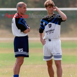 """Walter Smith Brian Laudrup Rangers photo 12x16"""" (Unsigned)"""