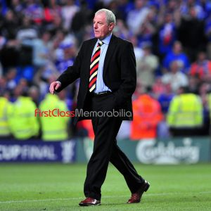 """Walter Smith Champions League photo Rangers 12x16"""" (Unsigned)"""