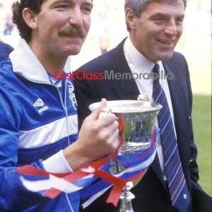"Walter Smith Graeme Souness photo Glasgow Rangers 12x16"" (Unsigned)"
