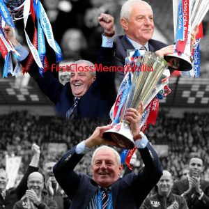 Walter Smith Rangers Manager Montage photo
