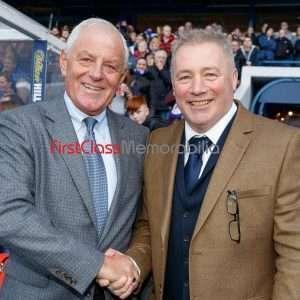 """Walter Smith Super Ally photograph Glasgow Rangers Memorabilia 12x16"""" photo (Unsigned)"""