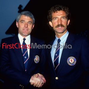 """Walter Smith and Graeme Souness Rangers Managers photo 8x10"""" (Unsigned)"""